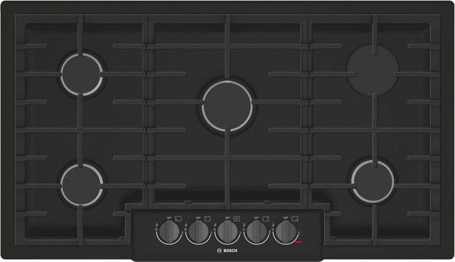 "Bosch 800 Series 36"" Gas Cooktop-Black-NGM8646UC"