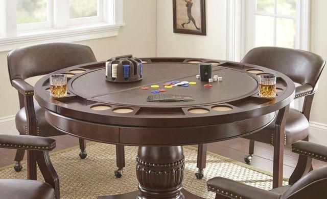 "Steve Silver Co.® Tournament 48"" Game Table-TU5050"