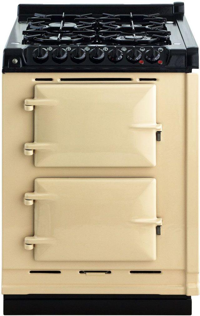 "AGA 24"" Cream Integrated Dual Fuel Range-TCDCLPM-CRM"