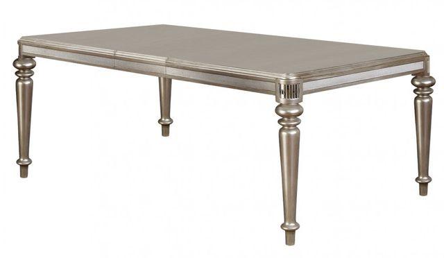 Coaster® Danette Metallic Platinum Dining Table-106471