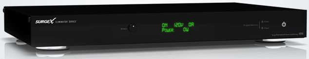 SurgeX® Residential Eliminator Series Power Conditioner-Black-XR315
