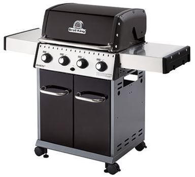 """Broil King® Baron 420 24"""" Black Free Standing Grill-922157"""