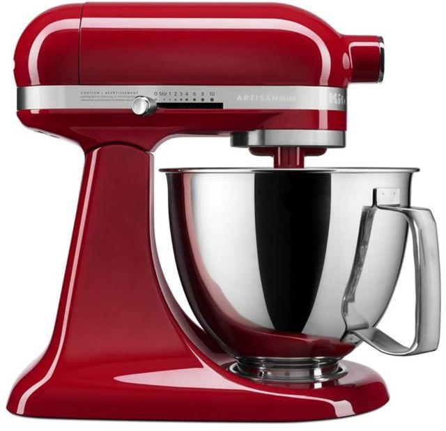 KitchenAid® Artisan® Mini Empire Red 3.5 Quart Stand Mixer-KSM3316XER