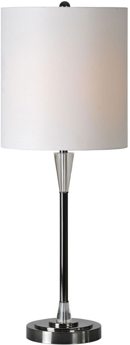 Renwil® Arkitekt Black Chrome Table Lamp-LPT499