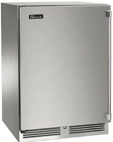 Perlick® Signature Series 5.2 Cu. Ft. Upright Freezer-Stainless Steel-HP24FS-3-1L