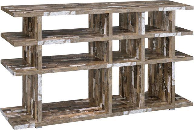 Coaster® CoasterEveryday Salvaged Cabin 3-Tier Open Bookcase-800848
