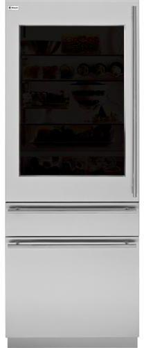 "GE® Monogram® Refrigeration 80"" European Glass Door Panel Kit-ZKGT300N"