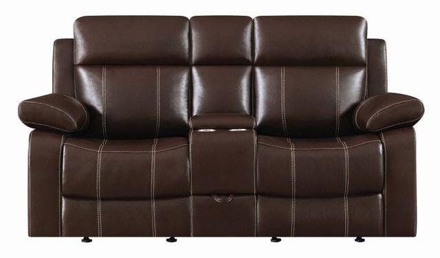 Coaster® Myleene Double Gliding Loveseat-603022