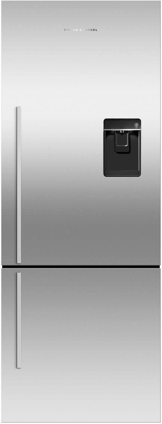 Réfrigérateur à congélateur inférieur à profondeur de comptoir de 24 po Fisher Paykel® de 13,4 pi³ - Acier inoxydable-RF135BDRUX4 N