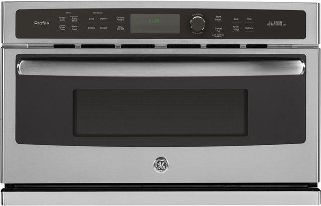 """GE Profile™ 29.75"""" Stainless Steel Electric Single Oven Built In-PSB9120SFSS"""