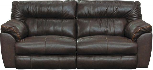 Catnapper® Milan Lay Flat Reclining Sofa-4341
