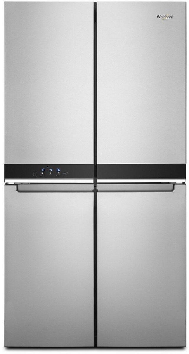 Whirlpool® 19.4 Cu. Ft. Fingerprint Resistant Metallic Steel Counter Depth French Door Refrigerator-WRQA59CNKZ