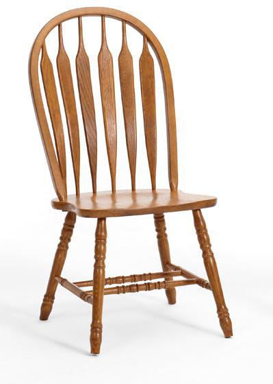 Intercon Classic Oak Side Chair-CO-CH-247SH-CNT-SU