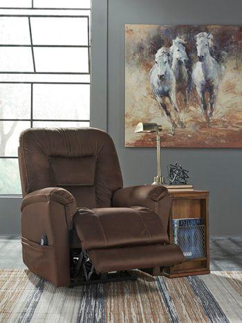 Ashley® Power Recliner/ADJ Headrest-6710113
