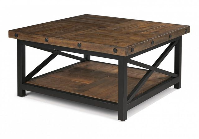 Flexsteel® Carpenter Square Coffee Table-6722-032