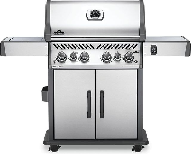 """Napoleon Rogue® SE 525 61"""" Stainless Steel Free Standing Natural Gas Grill-RSE525RSIBNSS-1"""
