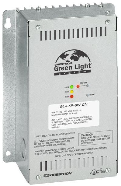 Crestron® Green Light® Switching Expansion Module-GL-EXP-SW-CN