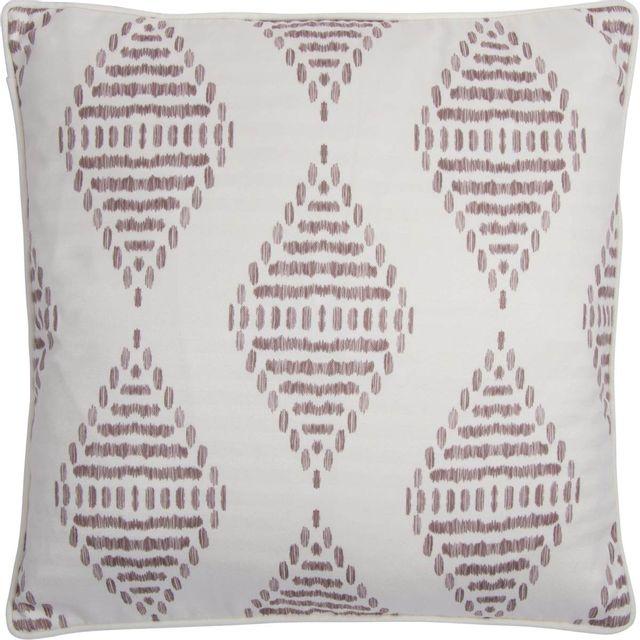 Coussin décoratif Bermuda, crème et brun, Renwil®-PWFL1336