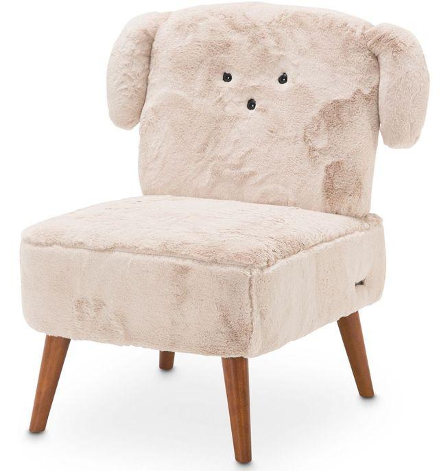 Michael Amini® A La Carte Puppy Armless Chair-KIA-PUPP830-STN-45