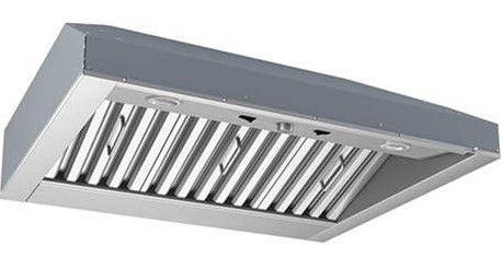 "Best® Fuori Bucolic 42"" Stainless Steel Outdoor Insert Range Hood-CPD9M363SB"