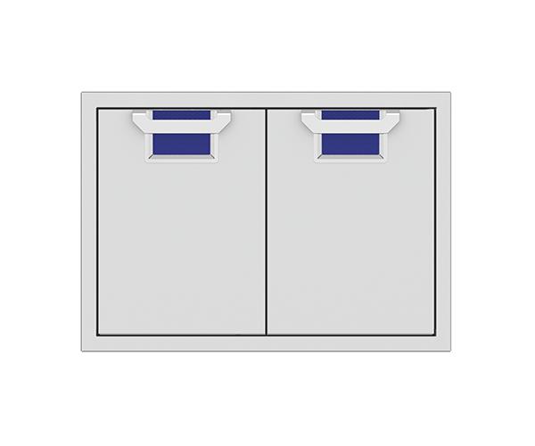 """Aspire By Hestan AEAD Series 30"""" Prince Double Access Doors-AEAD30-BU"""