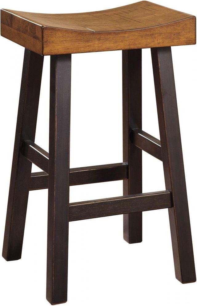 Signature Design by Ashley® Glosco Medium Brown/Dark Brown Tall Stool-D548-030