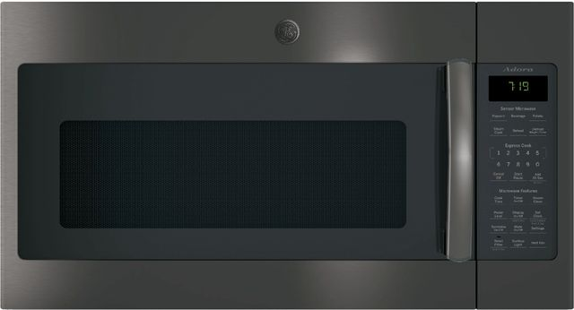 GE® Adora Series Over The Range Microwave-Black Stainless-DVM7195BLTS