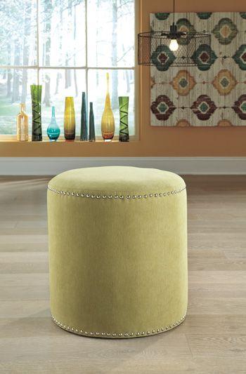 Signature Design by Ashley® Revel Citron Accent Ottoman-6810313