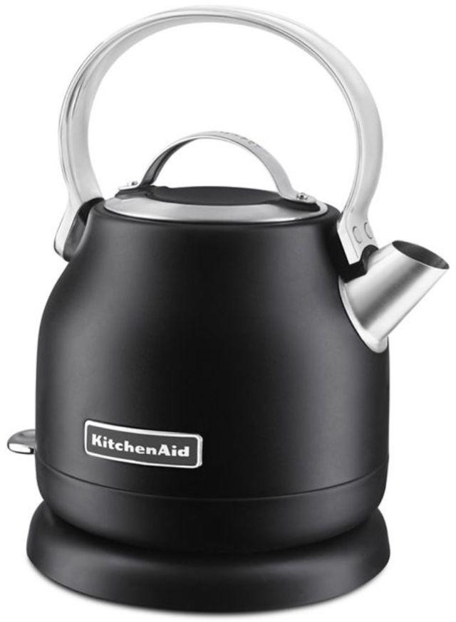 KitchenAid® 1.25 L Black Matte Electric Kettle-KEK1222BM