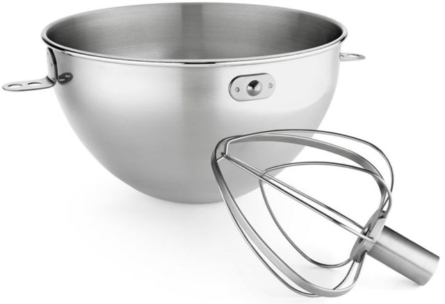 KitchenAid® 3.3 Liter Stainless Steel Bowl with Whip-KN3CW