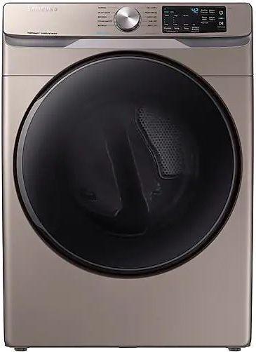 Samsung 7.5 Cu. Ft. Champagne Front Load Gas Dryer-DVG45R6100C