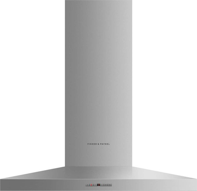 """Fisher & Paykel Series 7 35.38"""" Stainless Steel Wall Chimney Ventilation Hood-HC36PHTX1 N"""