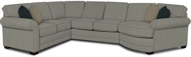 England Furniture Co. Brantley 4 Piece Culpepper Cement/Alvaro Mineral/Milos Night Sectional-5630-28-22-43-95+8612+8644+8601