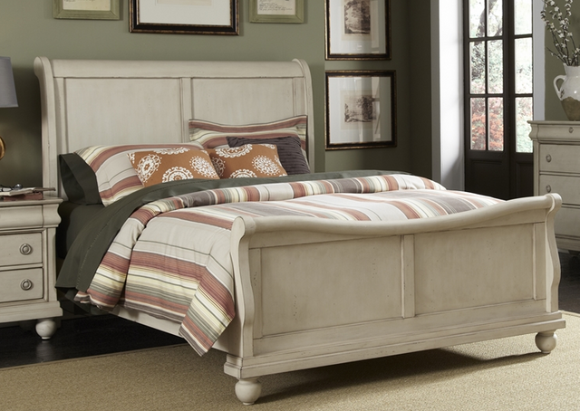 Liberty Furniture Rustic Traditions II Queen Sleigh Headboard-689-BR21H