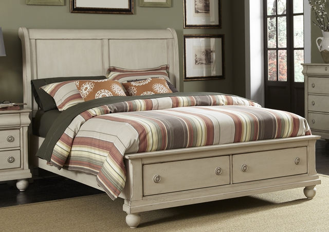 Liberty Furniture Rustic Traditions II King Sleigh Headboard-689-BR22H