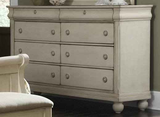 Liberty Furniture Rustic Traditions II 8 Drawer Dresser-689-BR31
