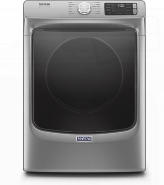 Maytag® 7.3 Cu. Ft. Metallic Slate Front Load Electric Dryer-YMED6630HC