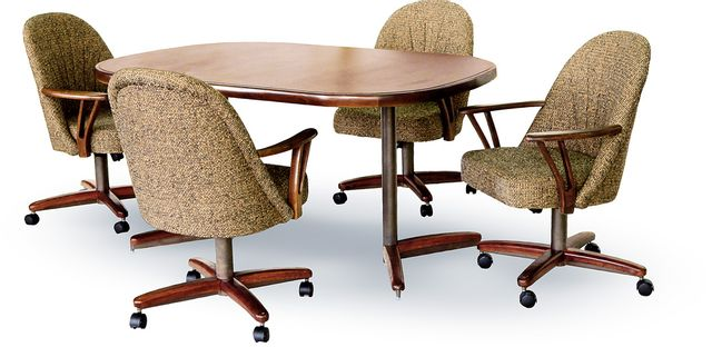 Chromcraft™ Dining Table-CD324NW+C453WZ