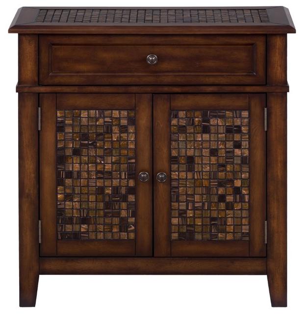 Jofran Inc. Baroque Brown Accent Cabinet-698-13