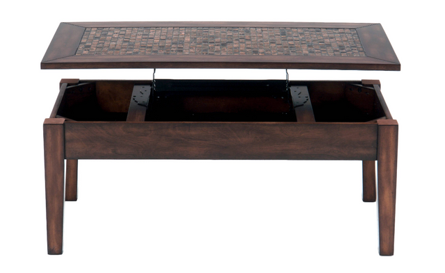 Jofran Inc. Baroque Brown Cocktail Table-698-5