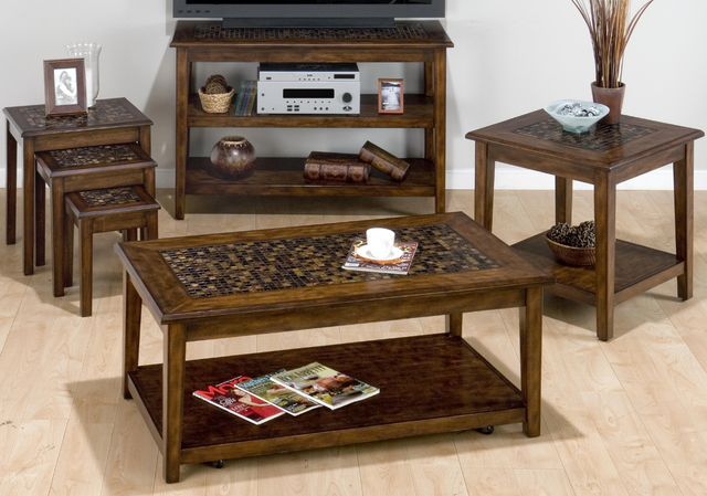 Jofran Inc. Baroque Brown Occasional Table Group-698 Occasional Table Group 1