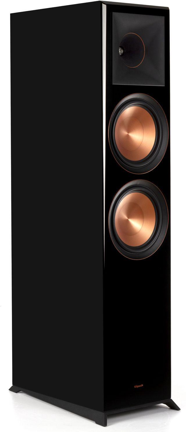 Klipsch® Reference Premiere Piano Black RP-8000F Floorstanding Speaker-1065797