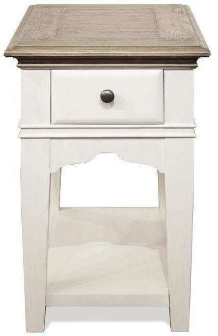 Riverside Furniture Myra Chairside Table-59513