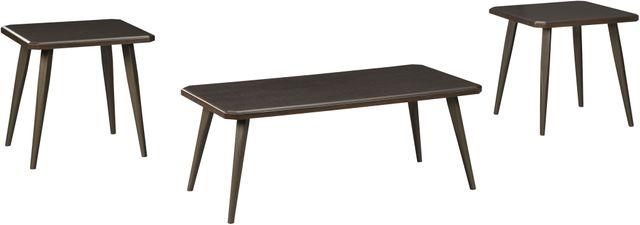 Signature Design by Ashley® Fazani Dark Brown Occasional Table Set-T037-13