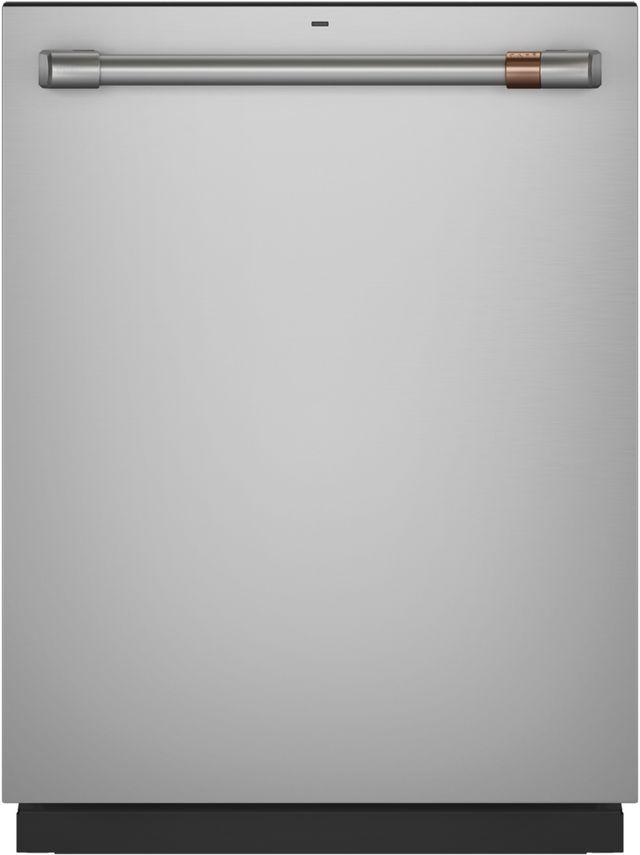 Lave-vaisselle encastré Cafe™ de 24 po - Acier inoxydable-CDT845P2NS1