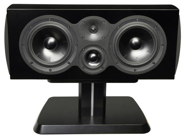 "Revel Performa3 Loudspeaker Series 8"" 3-Way Center Channel Loudspeaker-Piano Black-C208 BK"