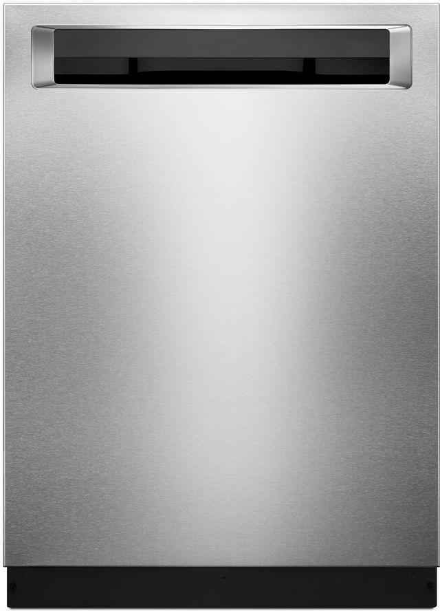 "KitchenAid® 24"" Stainless Steel with PrintShield™ Finish Built In Dishwasher-KDPM354GPS"