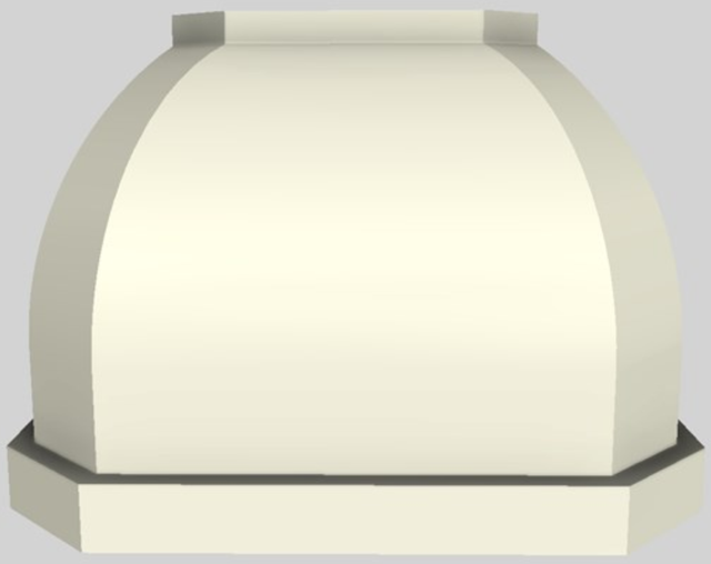 "Vent-A-Hood® Designer Series 42"" Wall Mounted Range Hood-Biscuit-JCH142/C1 BT"