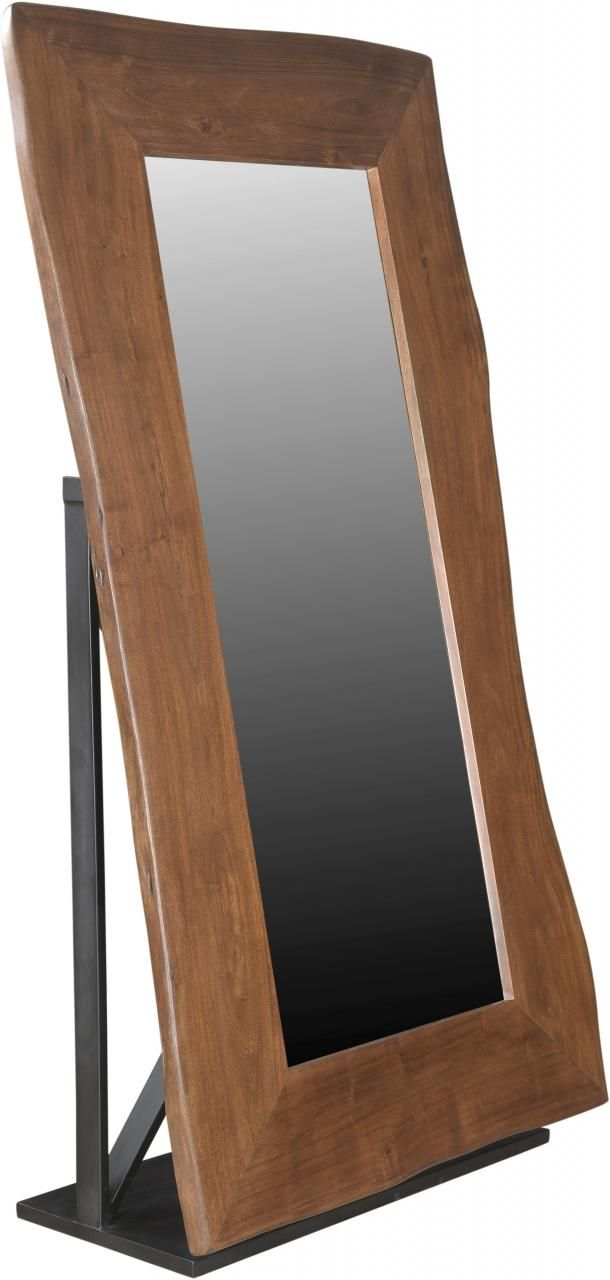 Coast to Coast Imports™ Honey Brown Large Cheval Mirror-93435