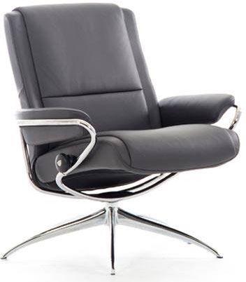 Stressless® by Ekornes® Paris Low Back Star Base Chair-1337321